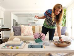 How to Style a Coffee Table with Studio McGee