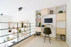 School teachers' lounge transformed into contemporary loft apartment Bad Schwalbach, Loft Studio, Lounge, School Building, Interior Decorating, Interior Design, House And Home Magazine, Apartment Design, Interior Architecture