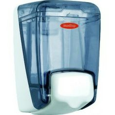 Dosificador jabón color fumé, dos capacidades a elegir 0,4 y 1 Litro.