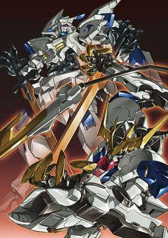 Mobile Suit Gundam: Iron-Blooded Orphans - ASW-G-01 Gundam Bael & ASW-G-08 Gundam Barbatos