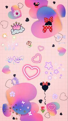 Pink Wallpaper Girly, Vintage Flowers Wallpaper, Cute Patterns Wallpaper, Cute Disney Wallpaper, Kawaii Wallpaper, Flower Wallpaper, Glitch Wallpaper, Galaxy Wallpaper, Pretty Backgrounds