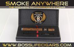 PRE ORDER Rechargeable Boss Life Cigar Kit – bosslifecigars