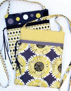 Easiest way to install a zipper. Great for purse, small pouch, and bag sewing patterns. Skip sewing near the zipper pull for best results. Bag Patterns To Sew, Sewing Patterns Free, Free Sewing, Pattern Sewing, Sewing Men, Free Tote Bag Patterns, Quilted Purse Patterns, Messenger Bag Patterns, Bags Sewing