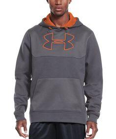 Graphite Armour® Fleece Panel Hoodie