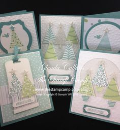 Festival of Trees Stamp Set of the Month