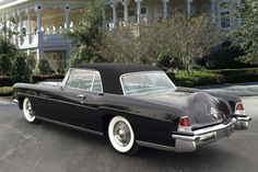 The 1956 Lincoln Continental MK II that was made for Mr. and Mrs. Henry Ford II