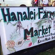 Market. #Kauai, #Flowkane