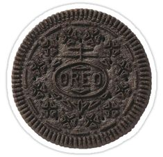 An Oreo cutout • Also buy this artwork on stickers.