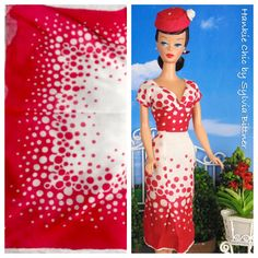 Cherries Jubilee for Barbie Victoire Roux & Poppy by HankieChic, $50.00