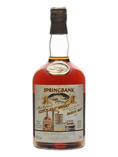 Springbank 1966West Highland Malt Sherry Cask #442