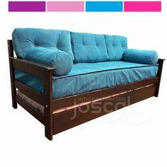 Sofa cama con cama nido sofa cama clic clac sofa cama for Almohadones divan