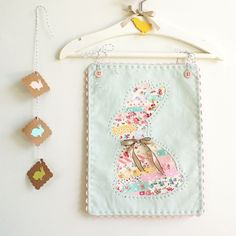 little bunny - a great way to use up scraps of fabric