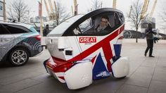 United Kingdom Driverless Car.