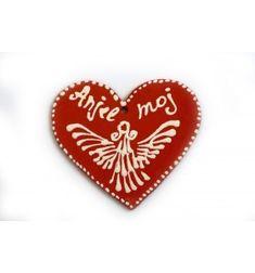 Valentin nap ajándék ötletek egymásnak, szív, Anjel moj felirattal Anjel, Valentin Nap, Valentino, Christmas Ornaments, Holiday Decor, Christmas Jewelry, Christmas Decorations, Christmas Decor