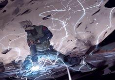 Kakashi Hatake, by Hanyijie Anime Naruto, Manga Anime, Naruto E Boruto, Naruto Fan Art, Naruto And Sasuke, Naruto Shippuden, Kakashi Chidori, Kakashi Sensei, Fan Art Anime