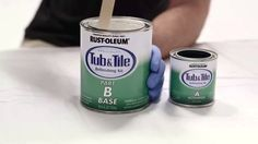 How To Apply Rust-Oleum Tub and Tile Refinishing Kit - HD Supply Facilities Maintenance - YouTube