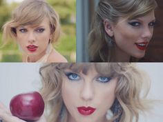 """Taylor Swift plays a crazy ex-girlfriend in her """"Blank Space"""" video and it's totally amazing! Despite acting like a lunatic, swinging a golf club at an expensive car and stabbing a cake with a giant knife, she looks totally amazing!"""