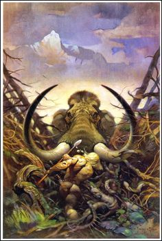Frank Frazetta:  Mammoth