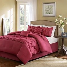 Home Essence Savoy 6 Piece Comforter Set - Red - Full/Queen Home Essence http://www.amazon.com/dp/B00J4G43GS/ref=cm_sw_r_pi_dp_Bawcxb02DFS56