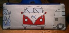 Campervan Pencil Case - front