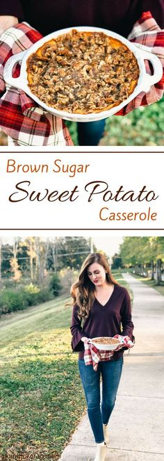 Brown Sugar Sweet Potato Casserole, what to make for thanksgiving, thanksgiving recipes, casseroles