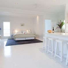Atlantic Byron Bay,Guest bedroom, Australia | Remodelista