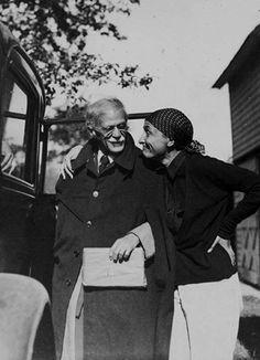 Georgia O'Keefe & Alfred Steiglitz