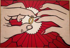 Roy Lichtenstein. #PopArt #Contemporary