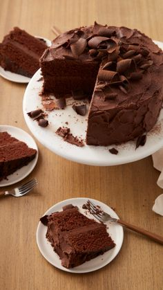 National Chocolate Cake Day, Tasty Chocolate Cake, Chocolate Desserts, Chocolate Lovers, Desserts To Make, Delicious Desserts, Sweets Recipes, Cake Recipes, Muffin