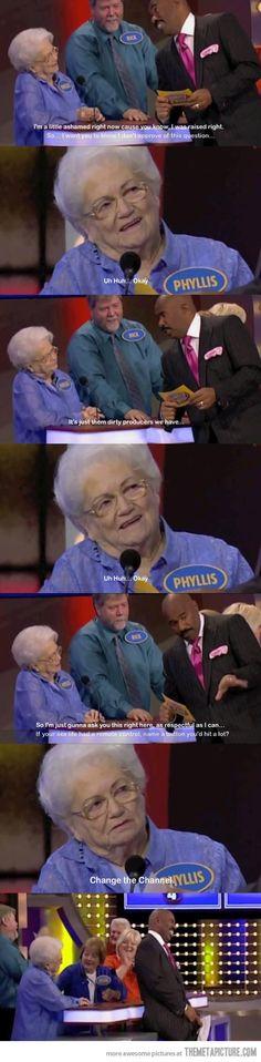 Grandma knows…