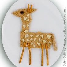 Peanut Butter Giraffe Snack - National Wildlife Federation