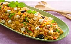 Couscoussalaatti Sweet And Salty, Something Sweet, Couscous, Fried Rice, Fries, Salads, Baking, Ethnic Recipes, Food
