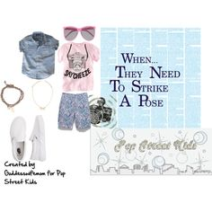 For When They Need to Strike a Pose: Beach Boy cool, created by goddesswifemom on Polyvore