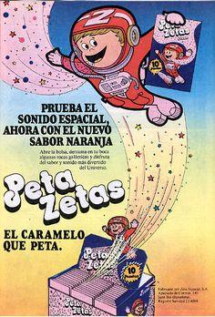 Peta Zetas.  Años 70/80 Caramelos . España.  Spain.