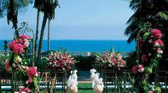 Four Seasons Santa Barbara Wedding Venue #ceremony #officiant #sbweddingofficiants