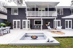 Top 50 Best Exterior House Paint Ideas - Color Designs Exterior Paint Colors For House, Paint Colors For Home, Interior And Exterior, Exterior Colors, Exterior Design, Home Renovation, Home Remodeling, Three Birds Renovations, Home Improvement Loans