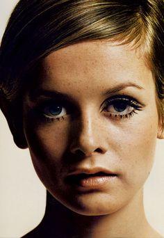 1960s hair + makeup.