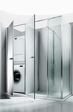 Colonna porta lavatrice e asciugatrice . facilissimo nascondere la ...