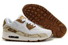Nike Weiß / Äscherne Schuhe Air Max 90 Frauen Hohe Qualität,50