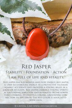 Chakra Crystals, Crystals Minerals, Crystals And Gemstones, Stones And Crystals, Crystal Uses, Crystal Healing Stones, Jasper Rock, Jasper Stone, Red Jasper