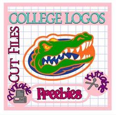 25 Days of College Logos Cut Files! Florida Gators