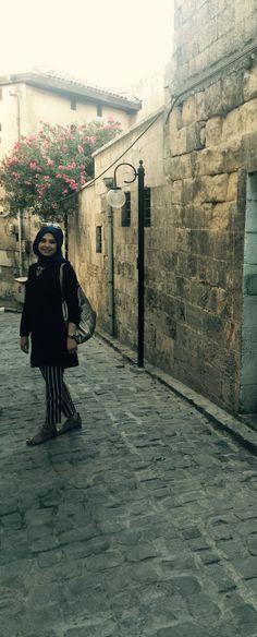 Gazi Antep sokaklarında moda