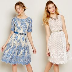 How perfect are these daytime dresses?!
