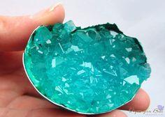 Как вырастить кристалл в яичной скорлупе 1
