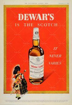 Whisky ephemera.