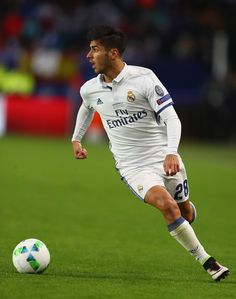 Marco Asensio Photos Photos - Marco Asensio of Real Madrid during the UEFA Super Cup match between Real Madrid and Sevilla at Lerkendal Stadium on August 9, 2016 in Trondheim, Norway. - Real Madrid v Sevilla: UEFA Super Cup