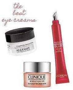 The Best Eye Creams #homemadewrinklecreamsnatural