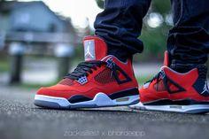 Zack Do Air Jordan IV Toro Bravo 540x360 Latest Sneakers, Sneakers Nike, Air Jordan Iv, Urban Street Style, Shoe Dazzle, Mens Fashion, Street Fashion, Shoe Game, Kicks