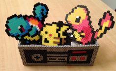 Awesome Sauce ~ NES Controller - Perler Bead Sprite Gift Box. $20.00, via Etsy.