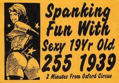 London Calling: A look at vintage 'tart cards' used by English prostitutes | Dangerous Minds